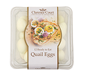 Ready to eat quail eggs Box