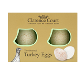 turkey eggs box
