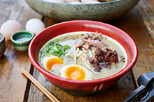 Duck Egg Ramen London