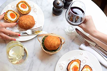 Easter Scotch Eggs in London